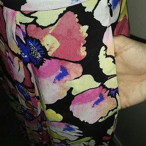 Free People Dresses - FREE PEOPLE Hot Tropics Floral Maxi Skirt Sz 0